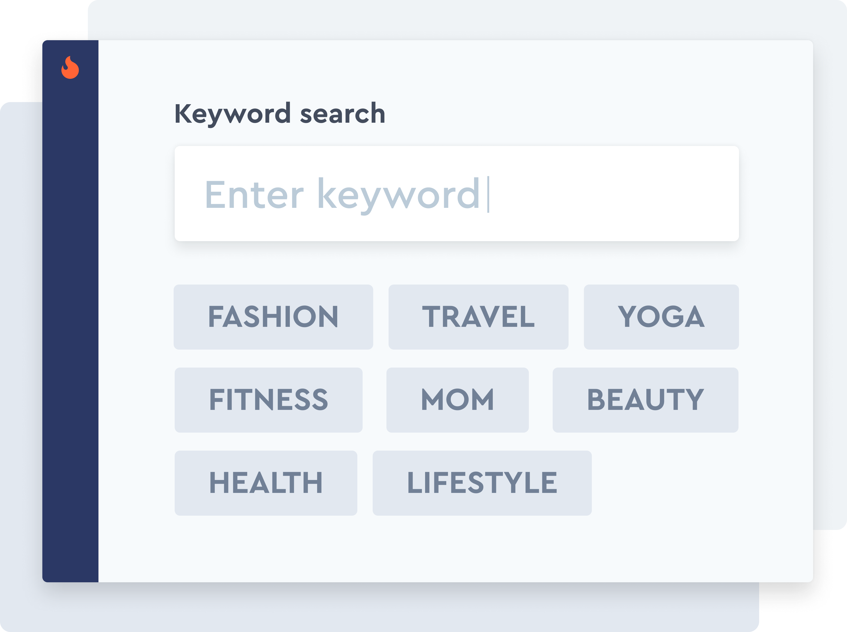 Narrow your search using keywords