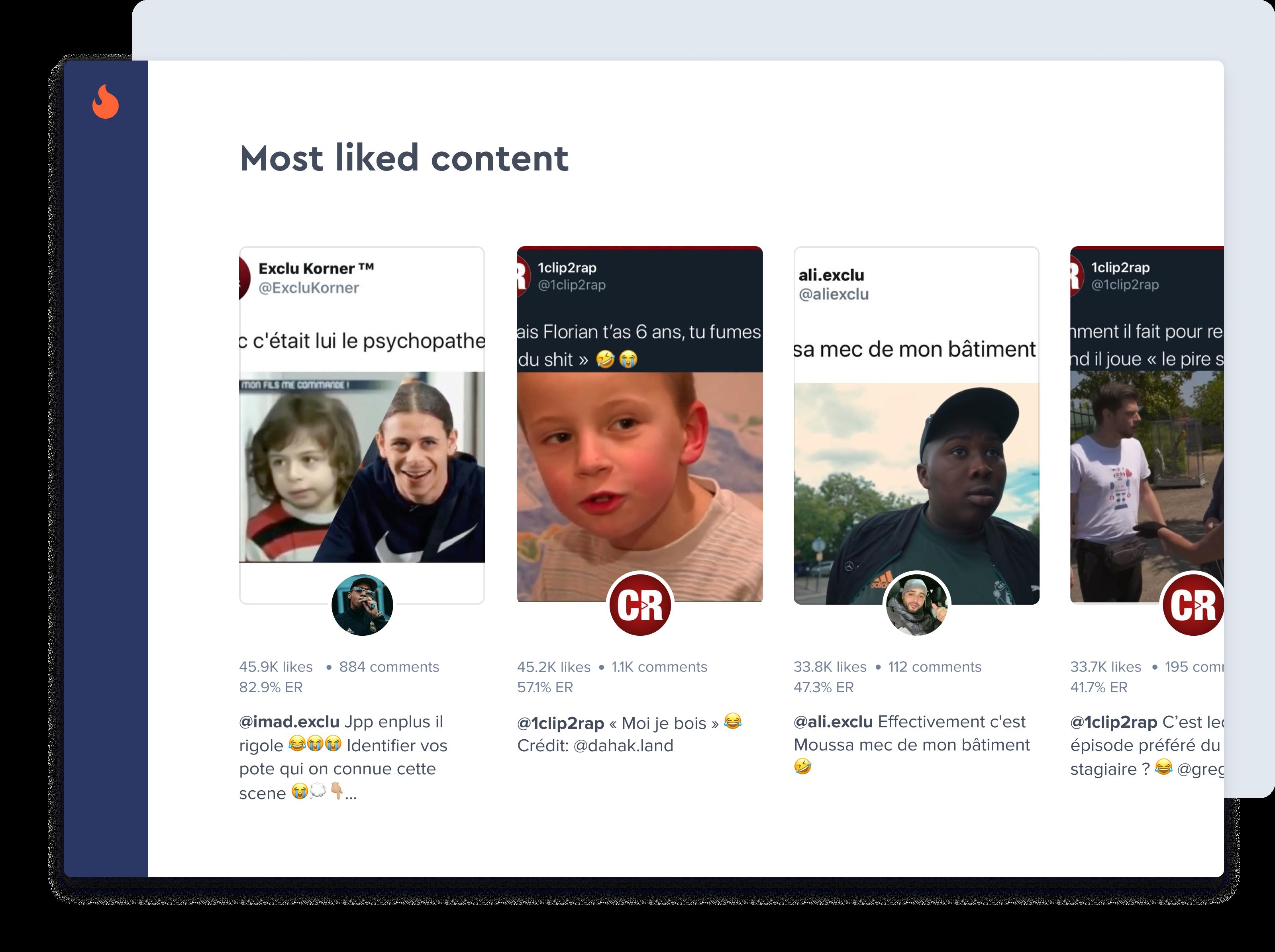 Suche nach Influencer Profil